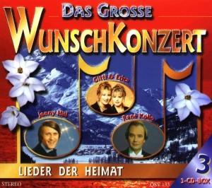 Diverse - Das Große Wunschkonzert - 3CD-Box