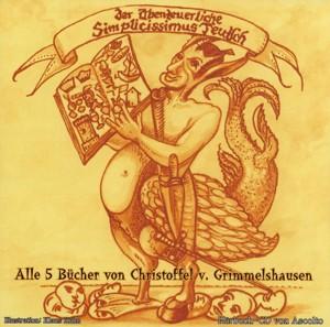 Der Abenteuerliche Simplicissimus - Alle 5 Bücher - MP3-CD - ca. 13 Stunden