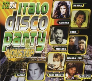 Diverse - Italo Disco Party - 2CD-Box