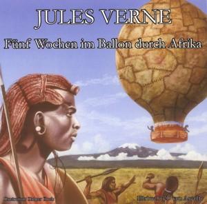 Jules Verne - Fünf Wochen im Ballon durch Afrika - MP3-CD ca. 8 Stnden