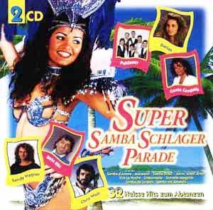 Diverse - Super Samba Schlager Parade