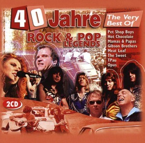 Diverse - 40 Jahre The Very Best Of Rock & Pop Legends