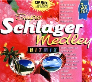 Diverse - Super Schlager Medley Hitmix - 3CD-Box