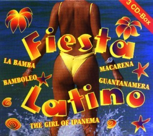 Diverse - Fiesta Latino - 3CD-Box