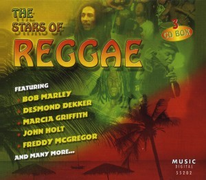 Diverse - The Stars Of Reggae - 3CD-Box