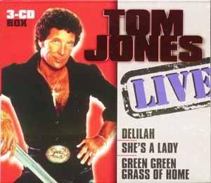 Tom Jones - Live - 3CD-Box