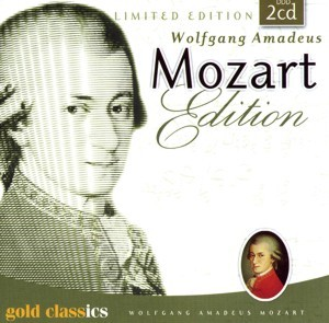Wolfgang Amadeus Mozart - Limited Edition - Gold Classic
