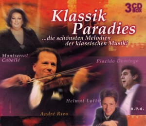 Montserrat Caballe, Placido Domingo, u.v.a - Klassik Paradies - 3CD-Box