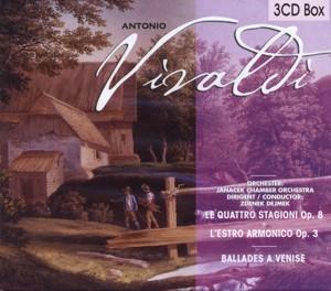 Antonio Vivaldi - Janacek Chamber Orchestra - 3CD-Box
