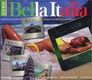 Diverse - Bella Italia - 3CD-Box