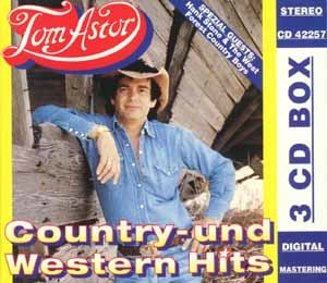 Tom Astor - Country- und Western Hits - 3CD-Box