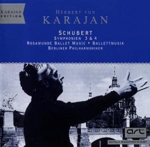 Herbert von Karajan - Schubert - Symphonien 3 & 4