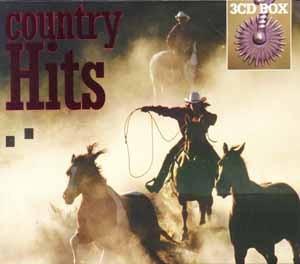 Diverse - Country Hits - 3CD-Box